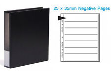 Kenro Negative Binder and 25 x 35mm Negative Pages