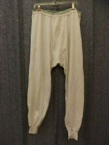 Vtg 1960s Hanes Thermal Waffle Knit Long Johns Underpants Base Layer 4XL 54/56
