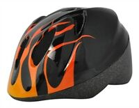 Alpha Plus Junior Helmet Flame 52-56cm Dial Fit
