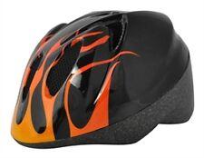 Alpha Plus Junior Helmet Flame 52-56cm Dial Fit