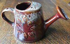 Lovely Vintage Kernewek  Pottery Honeycomb Glaze indoor Watering can