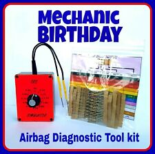 Mechanic Birthday  present AIRBAG RESISTOR Diagnostic tool kit for all vehicles.