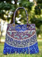 Indian Cotton New Mandala Tote Bag Shoulder Handbag Women's Satchel Purse