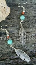 Handmade Feather Fashion Earrings