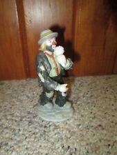 The Emmett Kelly Jr. Collection by Flambro Clown Hobo Eating Ice Cream Cone