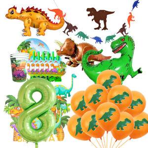 Dinosaur Theme Set Aluminum Foil Balloon Birthday Party Children Toy Decoration