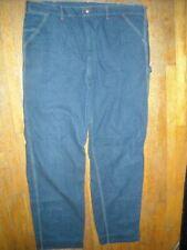 Vtg 60S 70S Mens 42 X 33 Jeans Dark Denim Carpenter Sears Work Pants 2