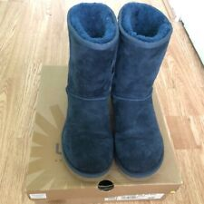 Navy Ugg Short Boots Size 5