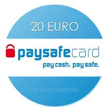 Paysafe Card 20€ EUR // Digitaler Code/Key // Lieferung via Ebay-Email