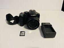 New listing Panasonic LUMIX Digital Camera DMC-FZ200 W/16GB Card