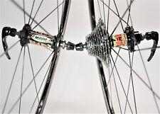 VINTAGE MAVIC KSYRIUM EQUIPE SHIMANO 10 SPEED ROAD BICYCLE 700C WHEEL SET 130 MM
