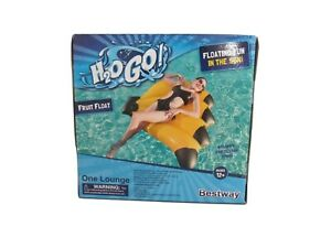 Inflatable Pool Lounge  Float Beach Toys Banana Bestway H20 Go! 12 & UP