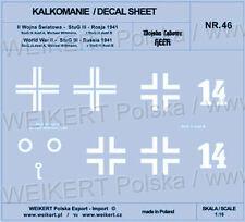 1:16 - DECALS - Markierungen auf dem Sturmgeschütz StuG III - Michael Wittmann