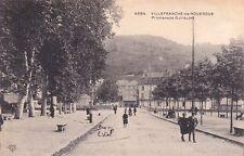 VILLEFRANCHE-DE-ROUERGUE 4684 promenade guiraudet