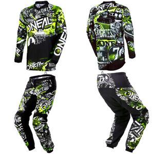 O'Neal Element Attack Jersey Pants motocross MX dirt bike gear bunde package set