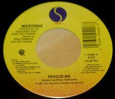 Madonna 45 Rescue Me  VG++