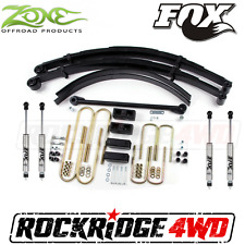 Suspension Bundle Package Zone 00-05 Ford Excursion 4WD w/ Fox Performance Shock
