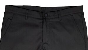 Men's HUGO BOSS Navy Blue Athleisure Pants 34 Euro Size 50 NWT NEW Slim Fit Golf