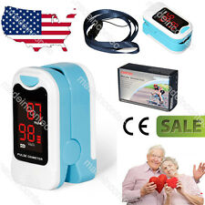 Finger Pulse oximeter Blood Oxygen Saturation Heart Rate Monitor,USA LED Display