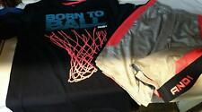 And1 Youth Basketball shorts/t-shirt combo Xl 14/16
