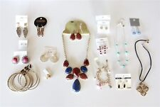 15 Pc New Fashion Jewelry Mixed Lot Wholesale Necklace Earrings Bracelets Rings
