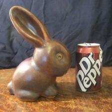 More details for large vintage bourne denby danesby ware stoneware bunny figure