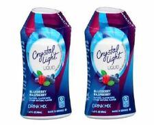 Crystal Light Blueberry Raspberry Liquid Drink Mix 2 Bottle Pack