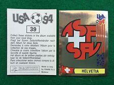 USA 94 n 39 SCUDETTO BADGE HELVETIA SVIZZERA , Figurina Sticker Panini NEW