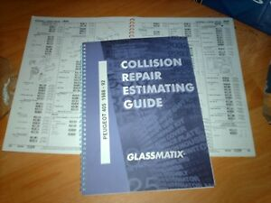 OEM part number guide Peugeot 405 Saloon and Estate 1988 - 1992