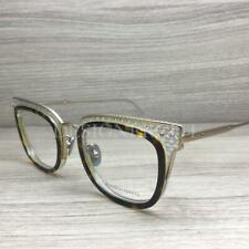 Bottega Veneta BV 0124O Eyeglasses Havana Clear Gold 002 Authentic 48mm
