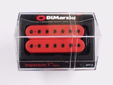 DiMarzio Imperium 7 String Neck Humbucker Red W/Black Poles DP 715