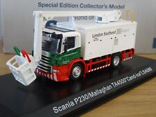 ATLAS EDDIE STOBART AIR SCANIA P SERIES DEICER MALLAGHAN TRUCK MODEL JV4110 1:76