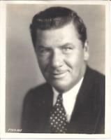 Foto Original George Bancroft (1882-1956) Portraits Promi Schauspieler Komiker