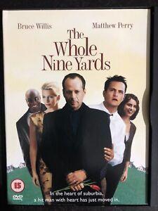 THE WHOLE NINE YARDS DVD Snap Case Bruce Willis Matthew Perry Region 2