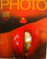 Photo  magazine n°111 - 1976 - Sieff Images intimes - Femmes secretes Newton