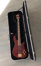 Schecter Diamond Series 4String Electric Bass Guitar + RoadRunner Hardshell Case