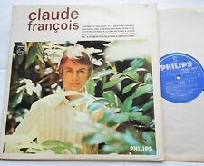 CLAUDE FRANCOIS J'attendrai CANADA ORIG 1967 PHILIPS LP 30cm FRENCH POP YEYE