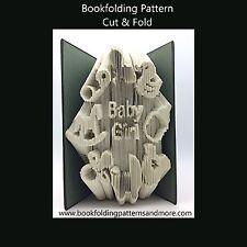 Livre pliage motif-Cut & Fold-Bébé fille pépinière
