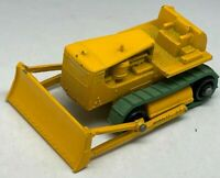 Matchbox Lesney No 18 Yellow Caterpillar D8 Bulldozer - Near Mint