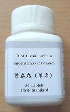 1pkt Shou Wu Wan Pian Herbal Tablets for Grey Thin HAIR LOSS Alopecia