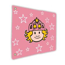 WICKEY Flagge Fahne 55x45cm Prinzessin Spielturm