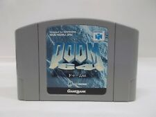 N64 -- Doom 64 -- Nintendo 64, JAPAN Game Nintendo. Work fully!! 18221