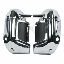NEW Chrome Lower Vented Leg Fairing Glove Box For Harley-Davidson Touring Models