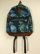 Authentic ICB J. Press York Street Classic Floral Backpack Bag Bookbag $250 NWT
