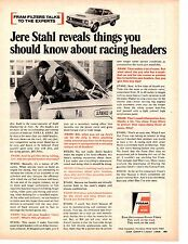1967 PLYMOUTH HEMI BELVEDERE / JERE STAHL  ~  ORIGINAL FRAM FILTER AD