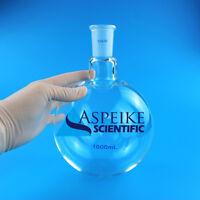 One neck,1000ml,24/40,Round bottom Glass flask,1L,Single neck,Lab Round Bottle