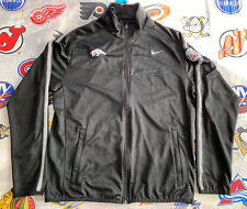 Arkansas Razorbacks 2014 Texas Bowl Full Zip Nike Jacket Men's Large Black Track