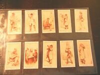 1934 Lambert & Butler LONDON CHARACTERS  set 25 cards Cigarette  tobacco RARE!