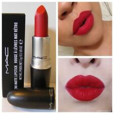 MAC MATTE ** RUBY WOO ** LIPSTICK NEW AND BOXED (FREE MAC EYELINER PENCIL)