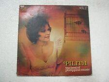 PILITA CORRALES THE BEST OF PHILIPPINE MUSIC VOL 2  RARE LP RECORD vinyl   ex